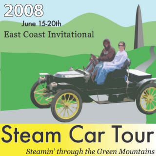 DVD Video - Green Mountains Steam Car Tour 2008