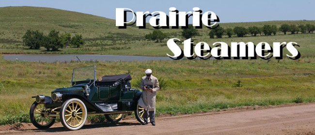 Prarie Steamers - Flint Hills Steam Car Tour - click for info