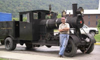 Steam Road Locomotive - click for Vapor Trails
